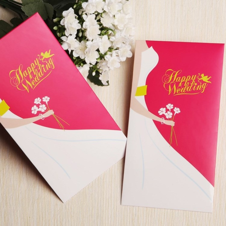 唯思美套系 结婚 婚礼红包  送礼红包袋 创意利是封 礼金红包MD02