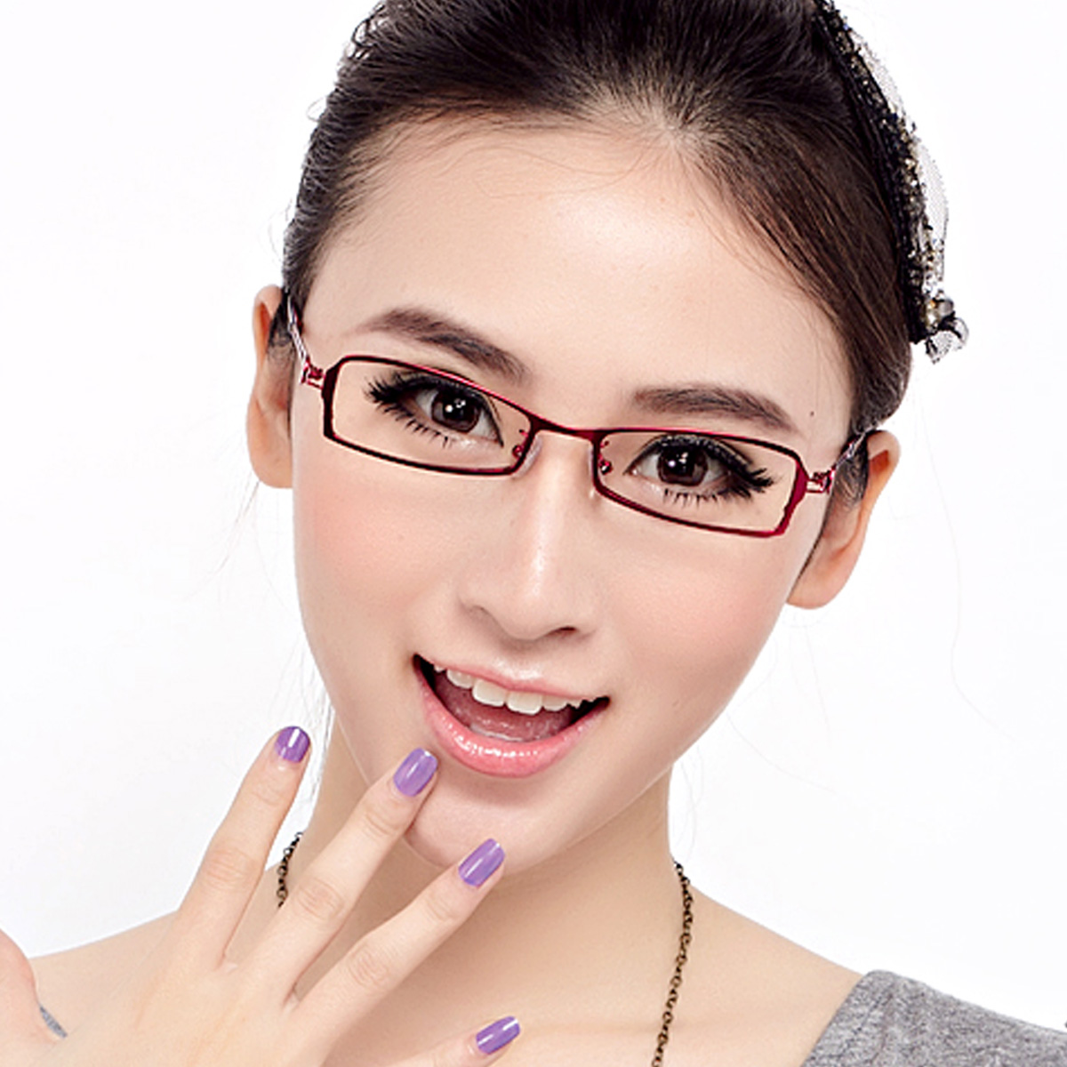super models with round face specs for round face for ...