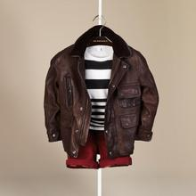 Hong Kong Shopping Burberry Burberry man new winter clothing leather leather jacket 38487401