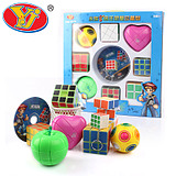 Foreverun Wing Chun Athlon third-order magic cube high-end plastic toy Rubik's cube competition benefits puzzle