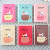 韩国可爱日记本6本装