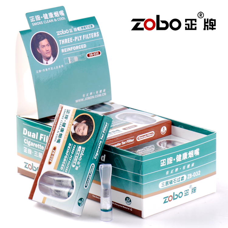 Zobo real cigarette holder-disposable cigarette holder to abandon a genuine filter filter cigarette holder Triple Pack-mail
