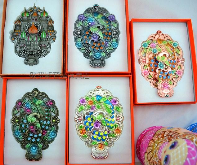 Россия Русский цвет олова ручки складной рабочего стола зеркало зеркало зеркало красиво подарок упакованного кубического спец