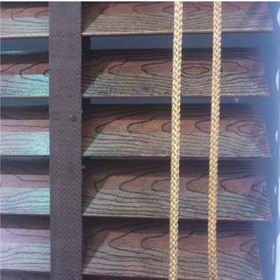 Habitat according rings Jixiang Yun decorating wood blinds blackout blinds aluminum rail Personal Emergency sun heat