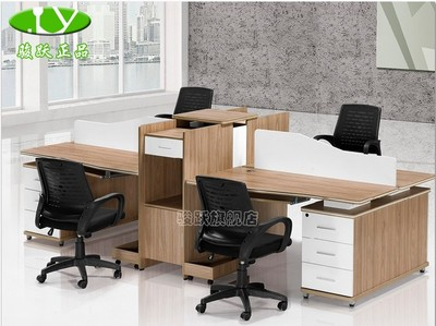 Chun Yue new desktop computer desk office staff first fashion niche that can be customized YD1836