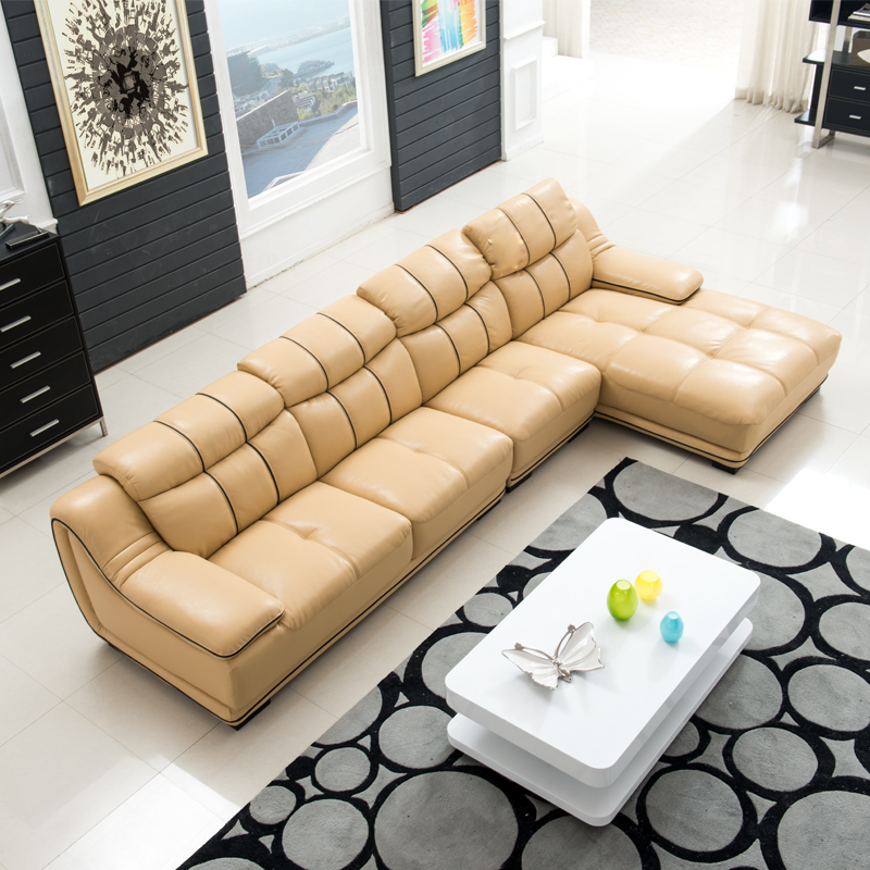 Product out of stock for Apartment size leather sofa