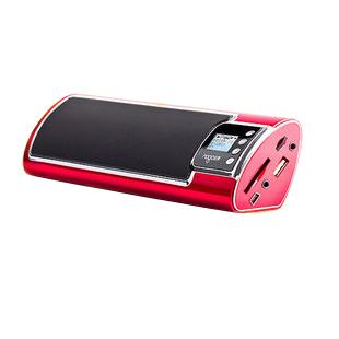 乐果N930便携式迷你数码插卡音箱 小音响 mp3播放器 收音机 特价