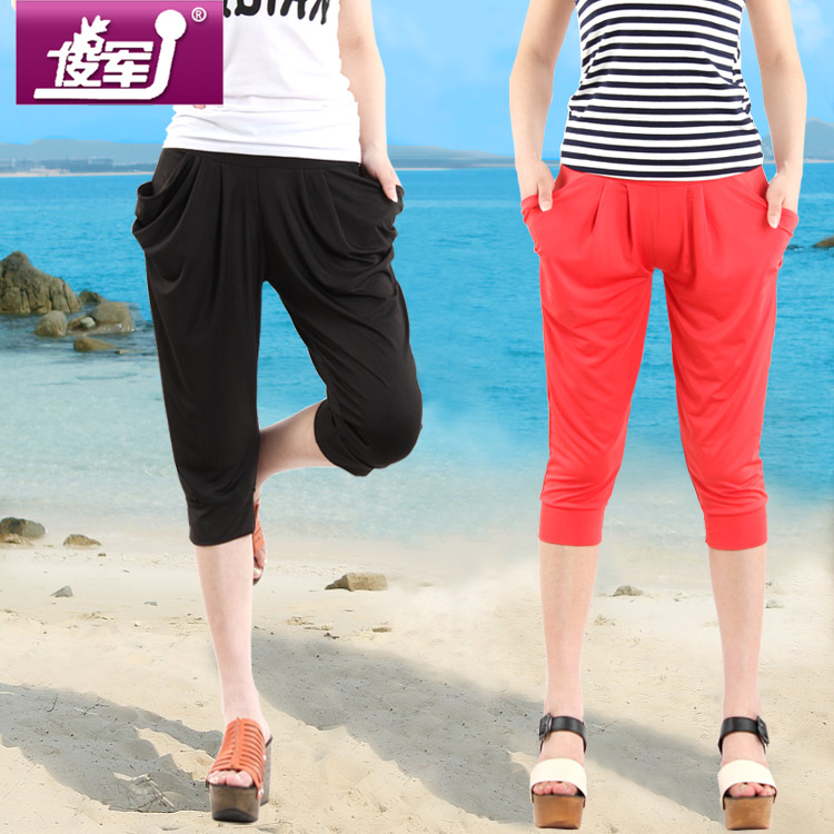 Casual pants pants shorts in summer 2013 new Harlan female Korean Jun skinny leggings plus size women's pants