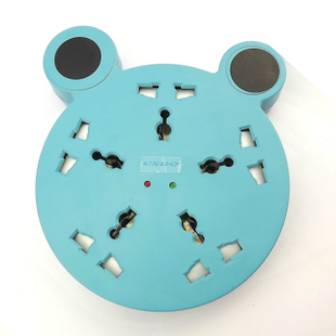 Mickey creative children's safety socket power strip power strips plugged exhaust socket Board 1.5 m Kit email