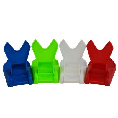 创意厨房用品 折叠式多功能锅盖架 收纳锅架子 饭勺架塑料置物架
