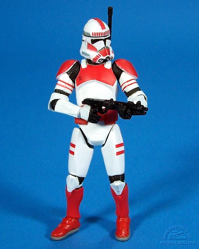 Подвижная модель куклы   Star Wars 3.75 Shock Trooper