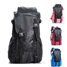 The new Student Recreation backpack computer shoulder bag men and women large-capacity outdoor waterproof bag Korean version of the influx of
