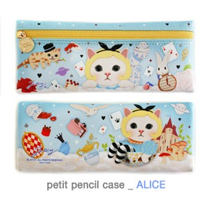 пенал Jetoy  Choo Choo Petit Pencil Case -alice