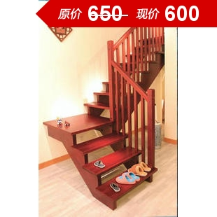 Hangzhou staircase\/overall real wood stairs\/escalators standard custom\/interview loft villa wooden staircase