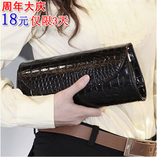 Korean female bag 2013 new wave of summer packet chain crocodile clutch handbag women shoulder bag diagonal