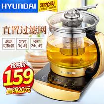 韩国现代1818养生壶全自动煮茶器加厚玻璃多功能煎药电烧水花茶壶