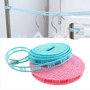 Japanese home barrier windproof clothesline clothes line to dry wire antiskid clothesline 5-meter.