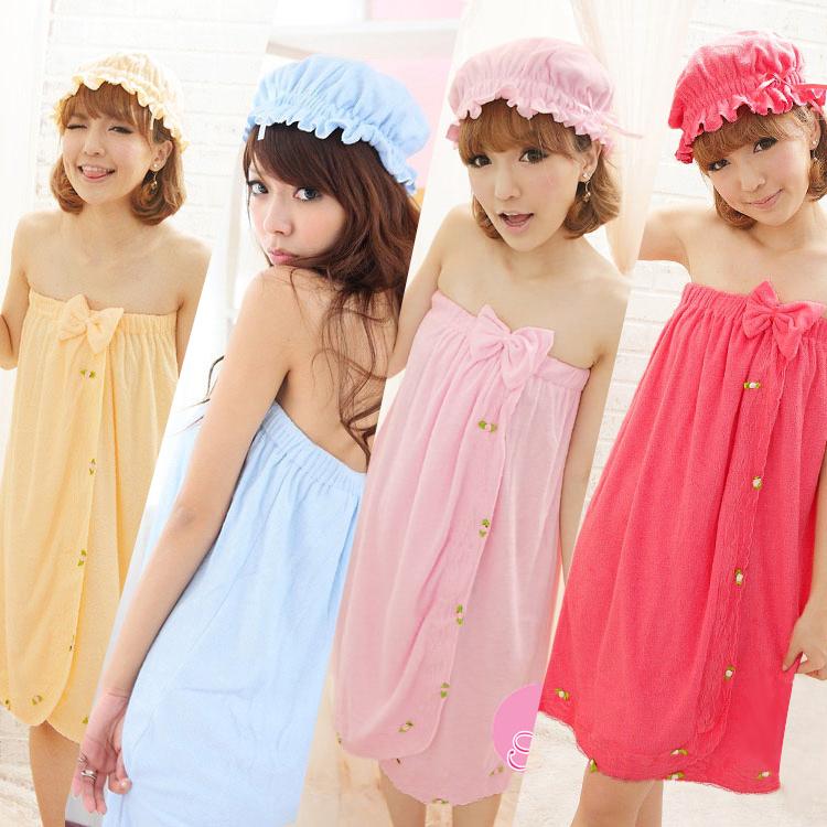 Lenceria Ropa De Baño:Otoño ropa de verano dormida princesa linda bata de baño de la ropa