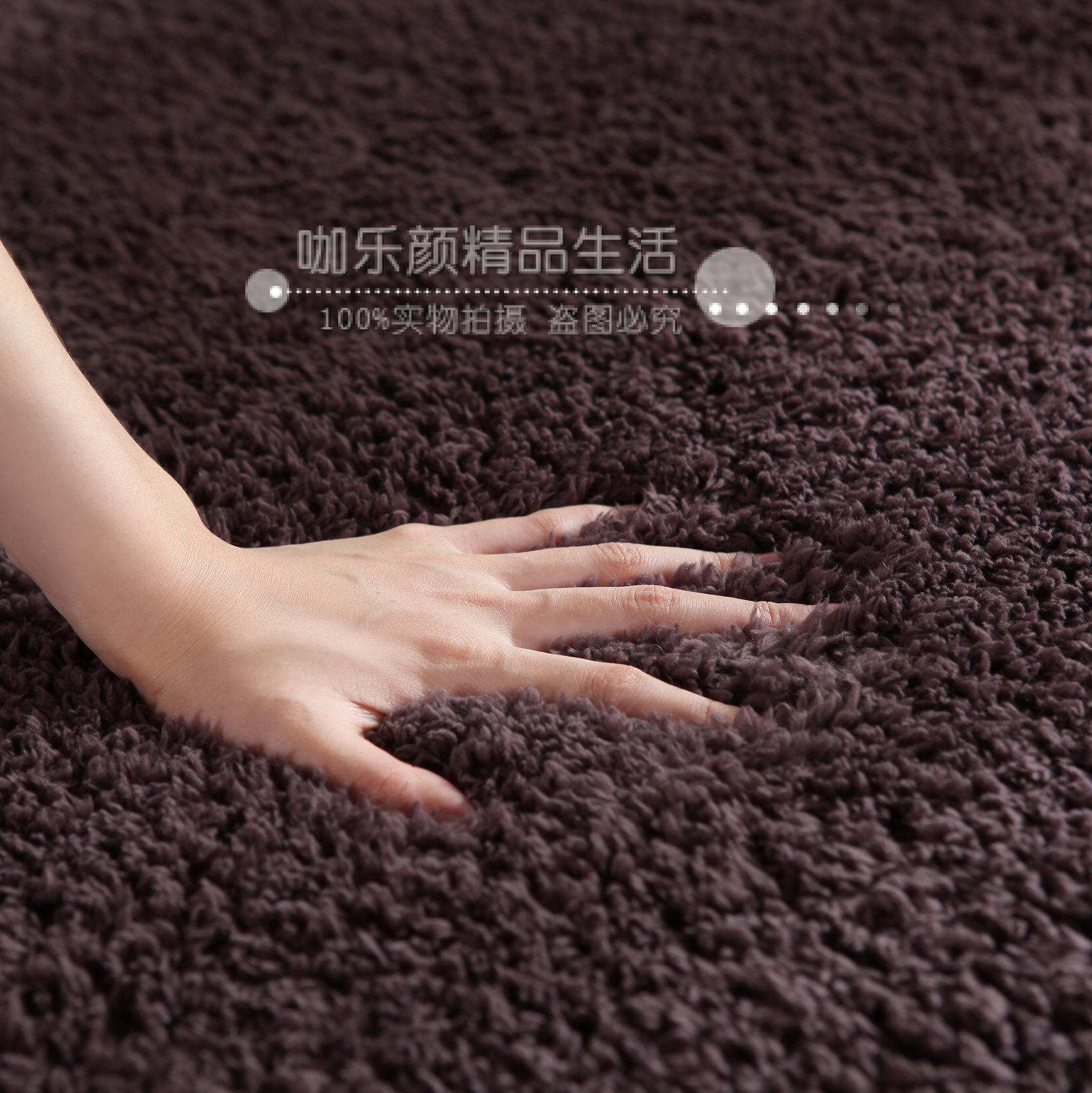 出口日本高档超厚 羊羔绒客厅地毯  卧室地毯 茶几毯 可定制 包邮
