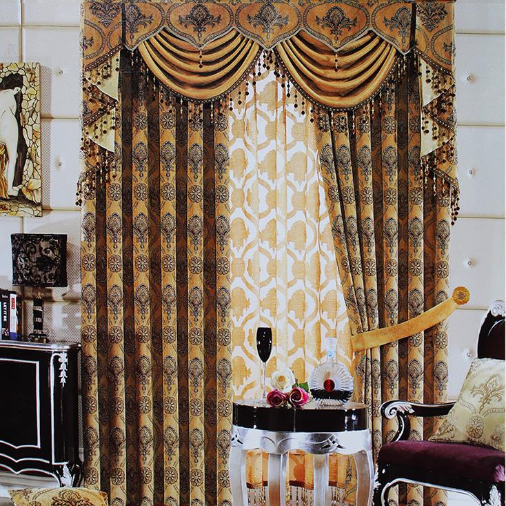 客厅窗帘布雪尼尔