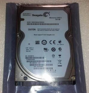 Seagate / Seagate 500g sata 2.5-inch notebook hard drive 5400 rpm Serial