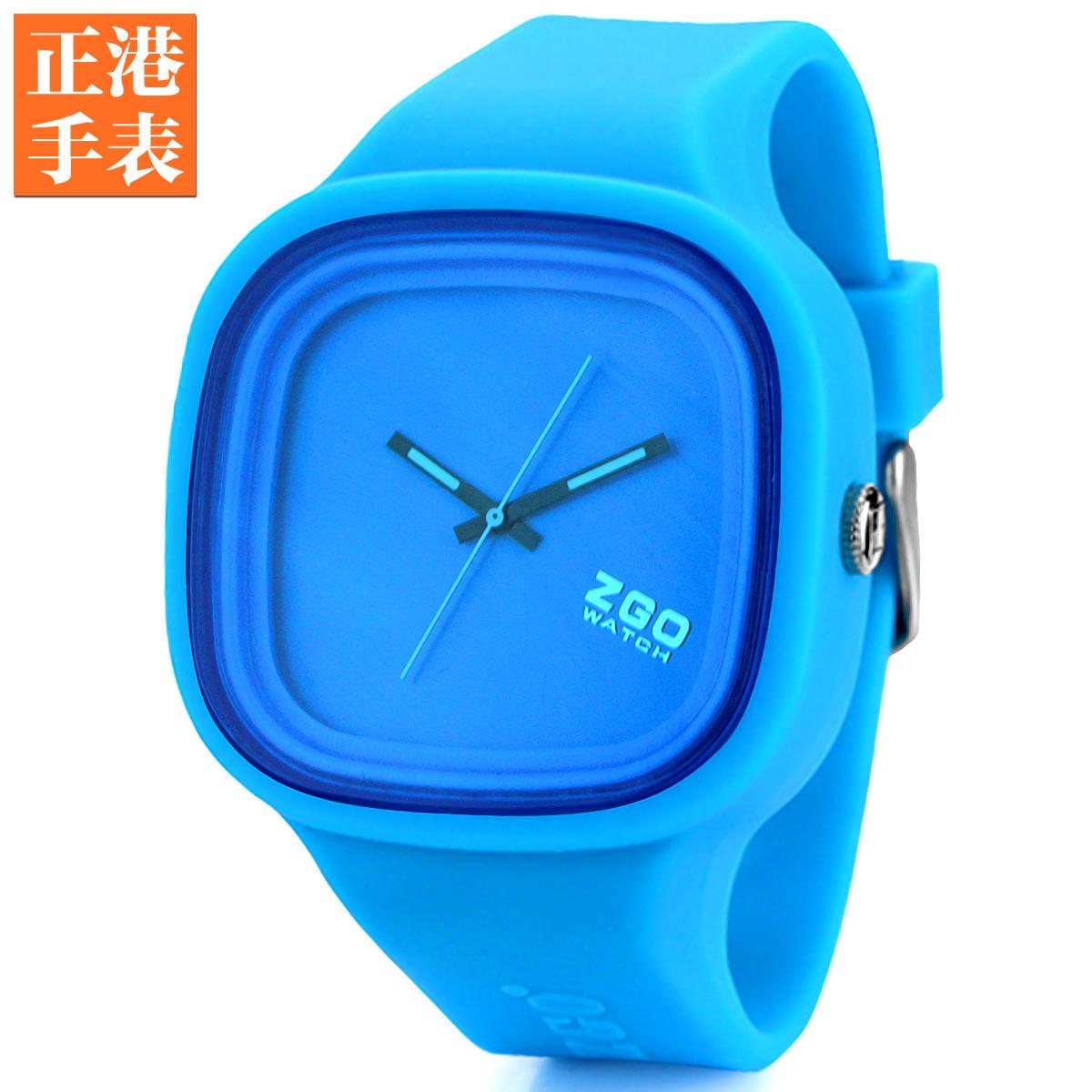 正港学生休闲运动大表盘 中性潮流磨砂果冻手表 个性创意石英腕表