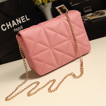 2013 new fashion Quilted chain bag Korean Hong style retro Messenger across miniature packet female bag bag tide