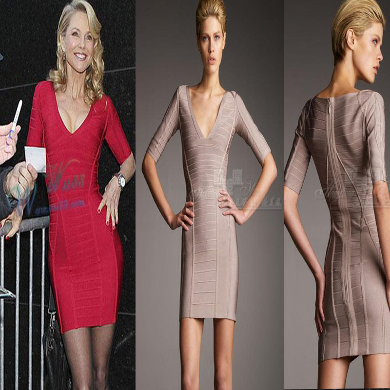 Вечернее платье Dress HERVE LEGER ARMIQUEEN2013 Dress