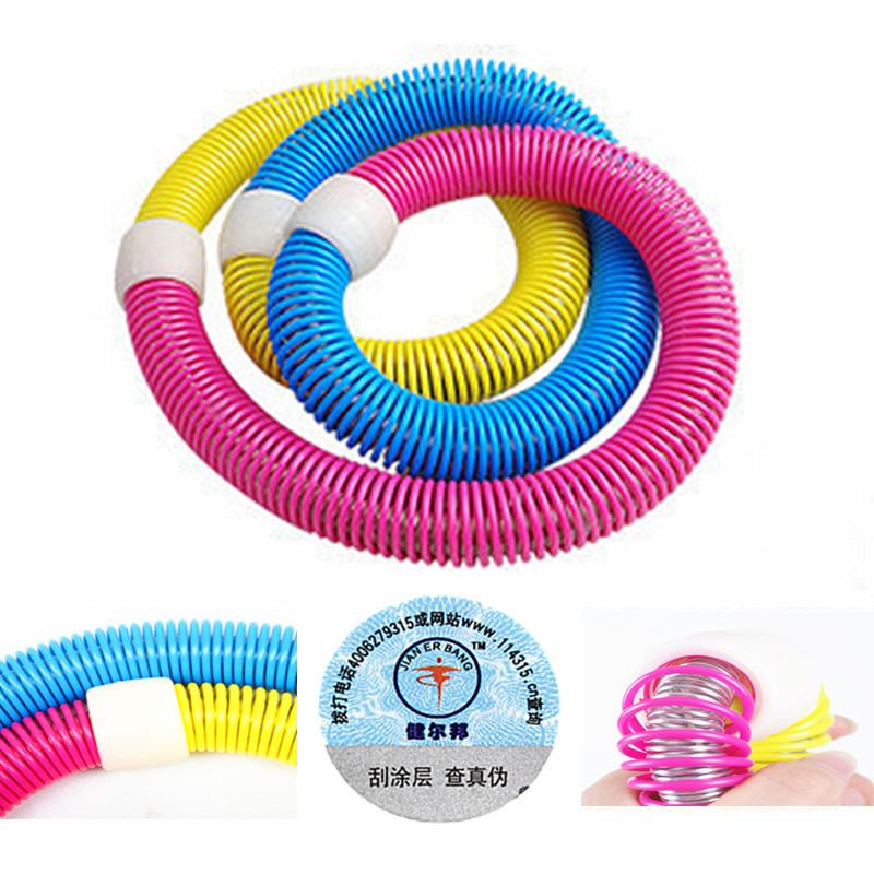 Jian bang original promotional package mail Korean soft spring Hula Hoop heavier slimming Hula Hoop thin waist under 1 kg