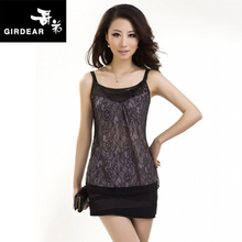 2013 Summer GeDi AMASS authentic wild lingerie lace vest coat small harness brand women bottoming shirt