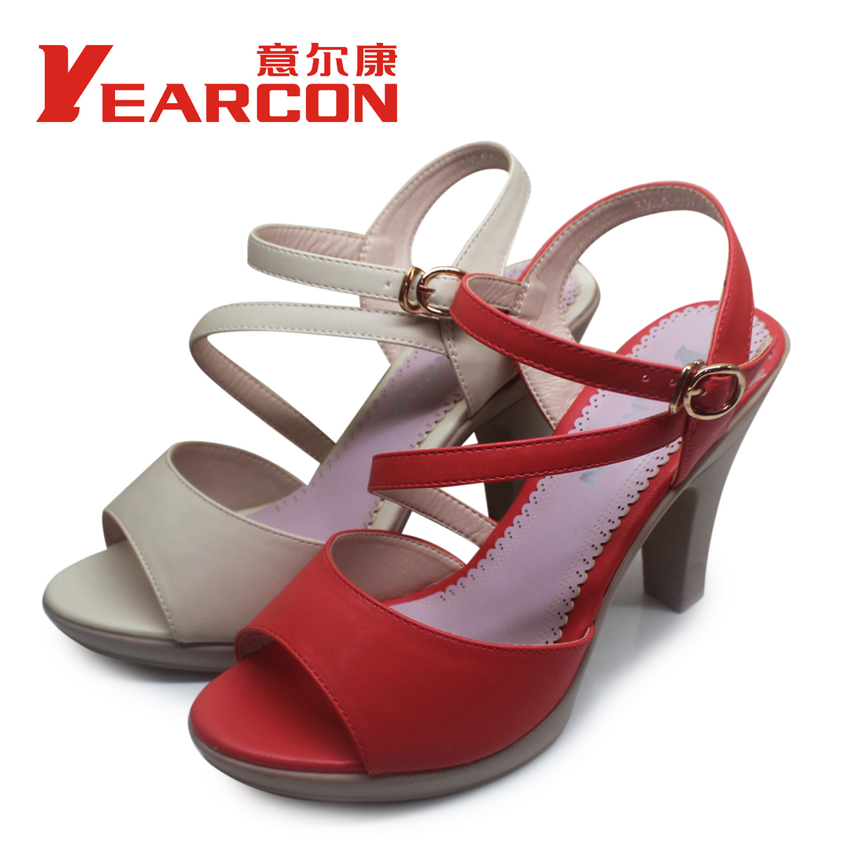 意尔康13新款特价上市时尚舒适欧美流行休闲女凉鞋33cl45669u