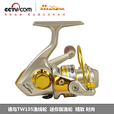 Tokushima reel 5 axis TW105 mini metal fishing reels Mini Rocky rod fishing reels spinning wheel wheels