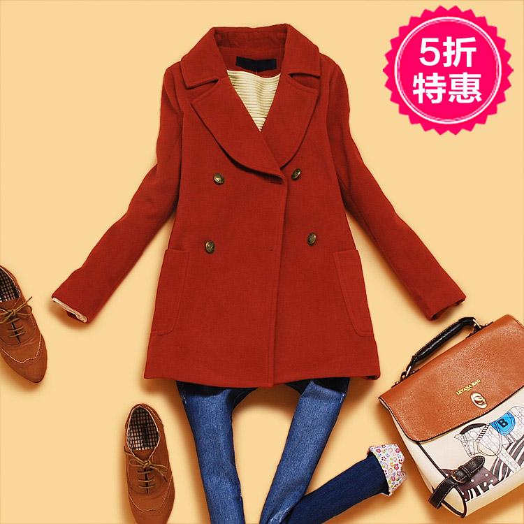 женское пальто Wheat starter e297 2013 E3-3-4 Весна 2013 Средней длины (65 см <длины одежды ≤ 80 см) Wheat starter Длинный рукав Классический рукав