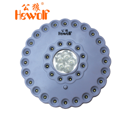 Male wolf outdoor tent camp lamp light Lantern Super Bright 41LED camp lights emergency lights camping lights