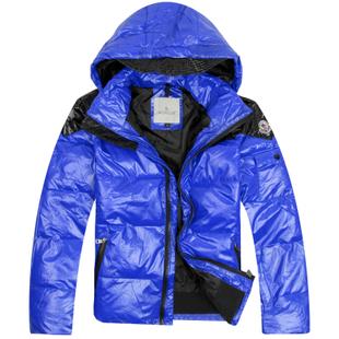 Пуховик мужской Moncler 1108/883496 Средней длины (длина одежды равна длине рукава+-3 см) Съёмный капюшон Разное Однотонный цвет