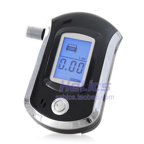 Алкотестер 包邮 正品 at6000酒精测试仪 酒精检测仪器高浓度酒精测量仪器