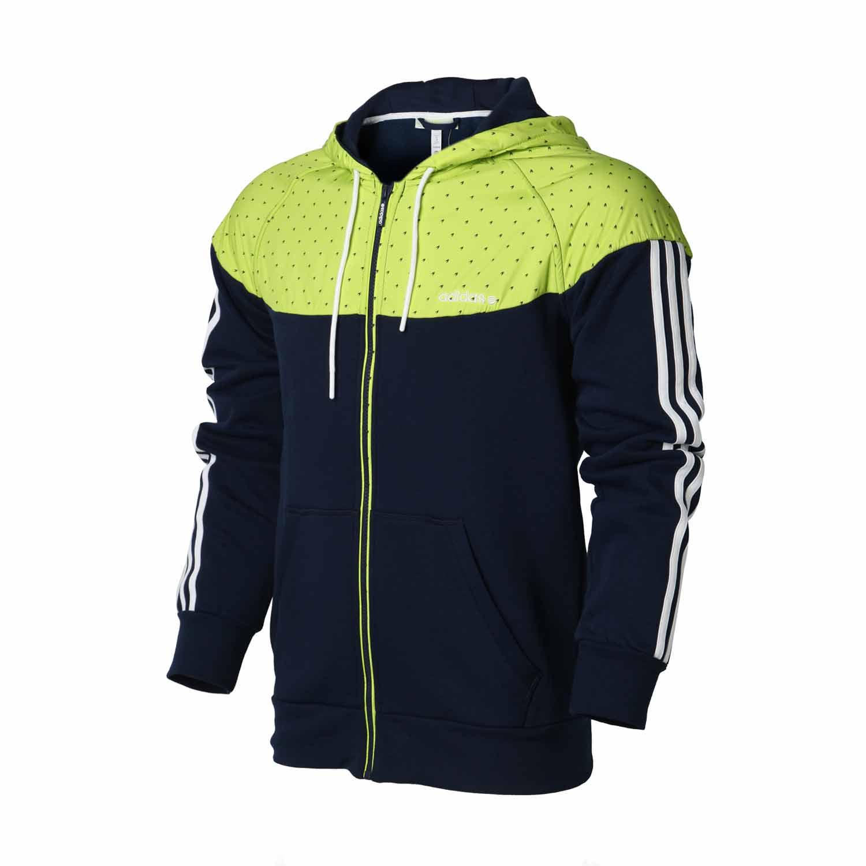 Спортивная куртка Adidas d87817 2013 D86624 D87816 Для мужчин Воротник с капюшоном Молния Для спорта и отдыха