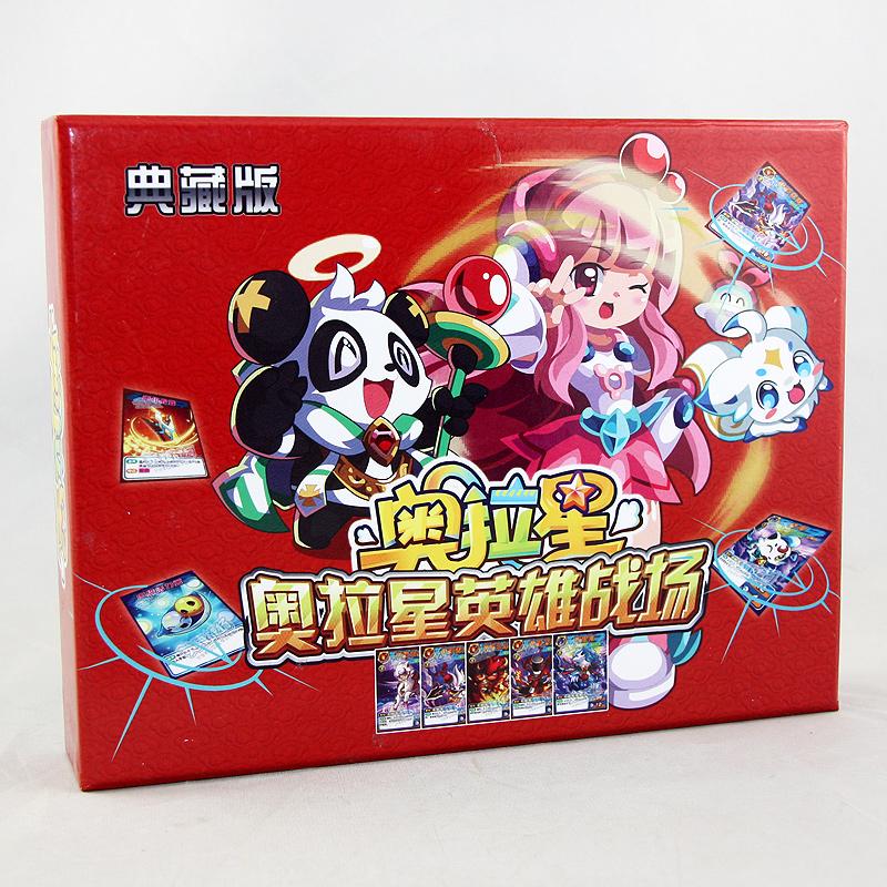 Персонаж из мультфильма Аура подарочной коробке издание звезды героев битвы герой битвы против карты детям подарки