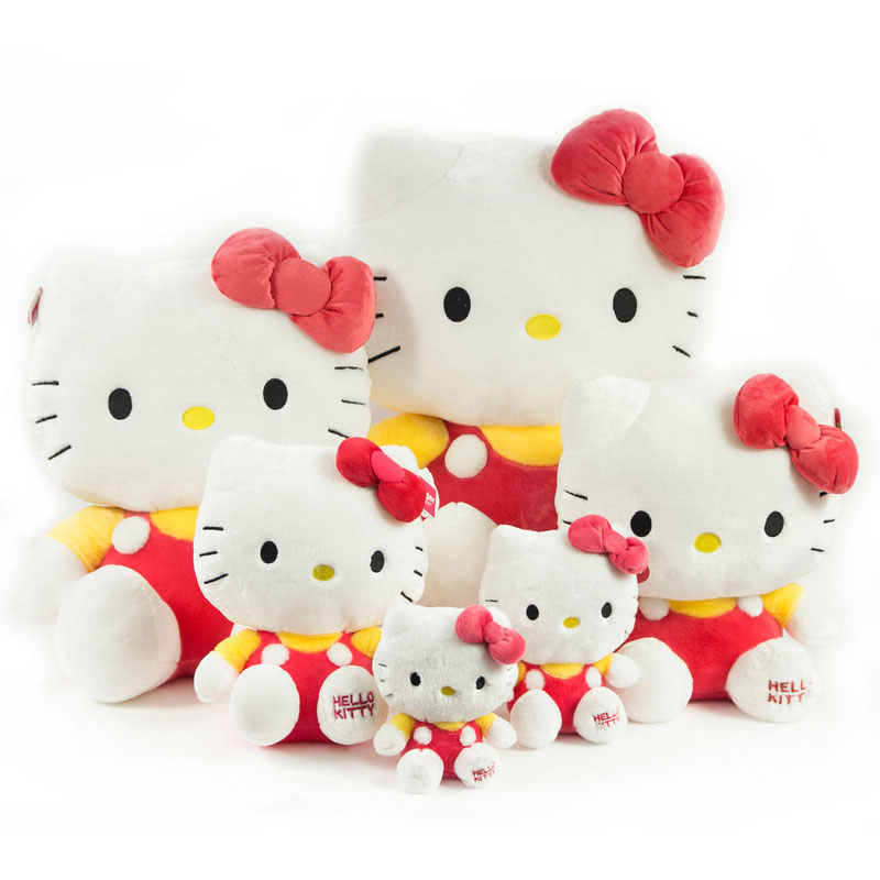 Hello Kitty 毛绒玩具公仔