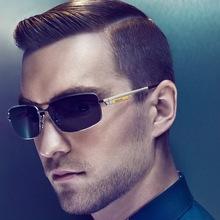 暴龙眼镜正品 男2013新款纯钛偏光太阳镜 简约商务司机墨镜BV153图片