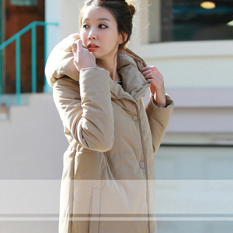 Fall/winter clearance sale Korean female coat long coat in new slim padded plus size winter coat women's clothing