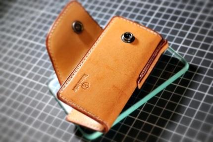 手工皮具钥匙包