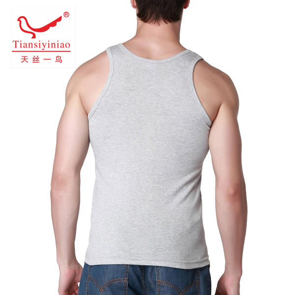 Two pieces of 20 yuan men cotton vest bottoming word recreational healthy influx of summer T-shirt Slim Korean version of the fall of the home