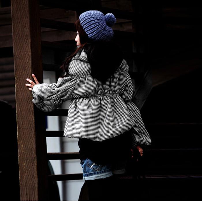 Женская утепленная куртка Baoer 80326 W033 Прямой Длинный рукав