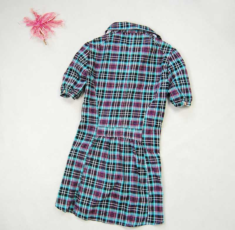 женская рубашка Европа и ветер долго хлопок вязать слоеного рукав короткий рукав рубашки 3 цвета в Милый Короткий рукав Однотонный цвет