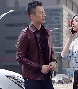北上广依然相信爱情王茂朱亚文同款PU皮衣外套