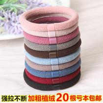 韩国高弹力发圈不伤发头绳小清新皮筋发绳简约橡皮筋发圈皮套发饰