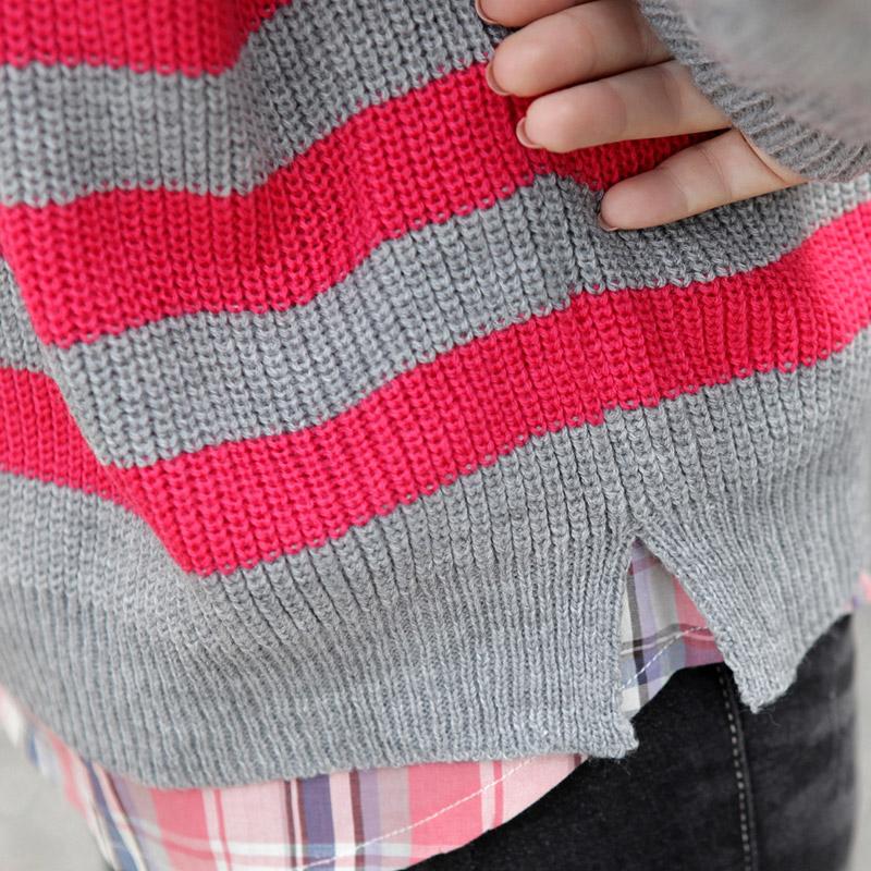 Свитер женский Korean homes have clothes aa1159 2012 Акриловое волокно Осень 2012 Длинный рукав Разный тип рукава О-вырез