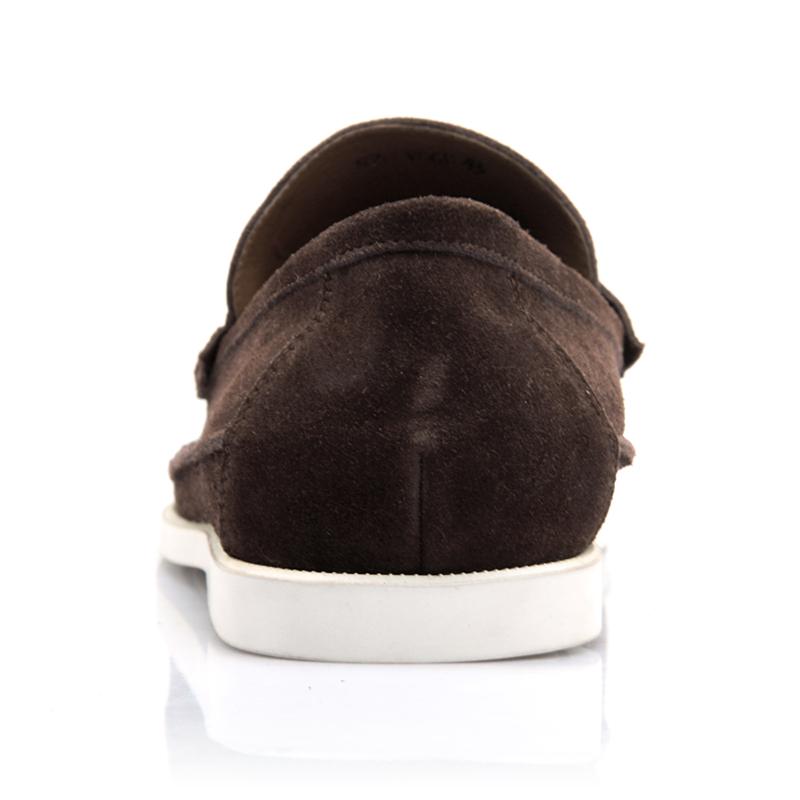 Демисезонные ботинки VOGU HOMME 299 Обувь на тонкой подошве ( для скейтборда ) Для отдыха Верхний слой из натуральной кожи Круглый носок Без шнуровки Лето