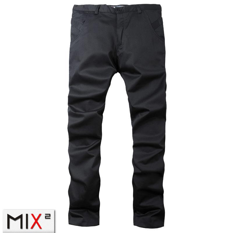 Повседневные брюки MixSquare l12k18c1 MIX2 2012 Прямой Хлопок без добавок Осень